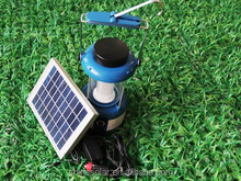 small size solar camping lantern with radio+mobile phone charger SN-SLY603