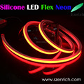 Silicone body led neon flex rope light
