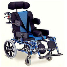 A new type of manual sloping wheelchair with complete function and beautiful appearance