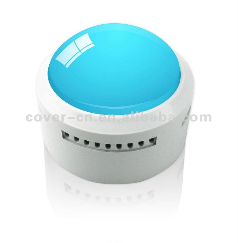 2013New Customized LED flashing sond button for gift