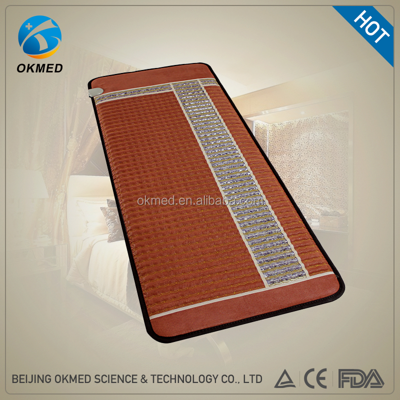 2017 Top Selling High Quality Warm Thermal Therapy Amethyst Heating Mattress