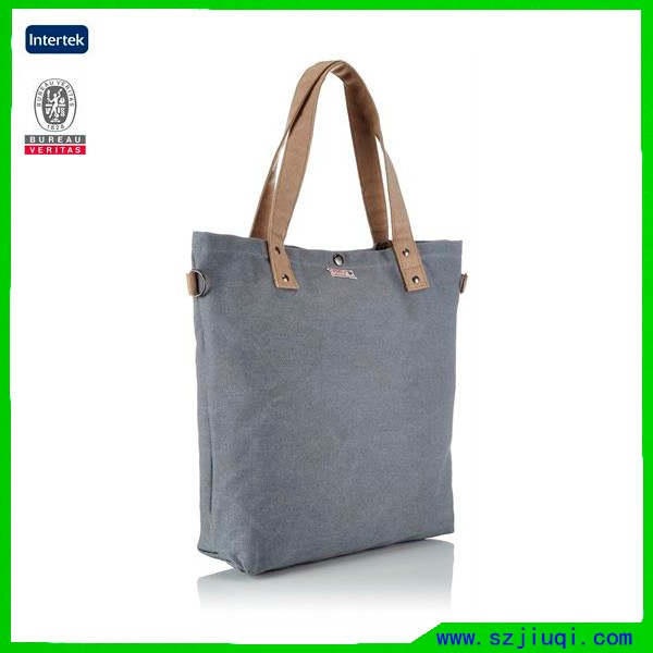 Fashion canvas advertising printed tote bag for school