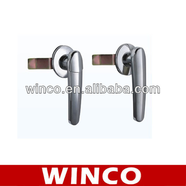 Factory Supply _ High Quality Italy style Luxury Biometric Fingerprint Door Handle Lock