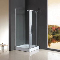 modern shower cubicles and trays