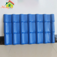 Low temperature resistant plastic Spanish asa synthetic resin roof tile for high-grade villas