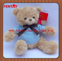 Mummy soft plush bear toy with baby