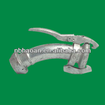 agri-lock galvanized flexible perrot elbowed coupling