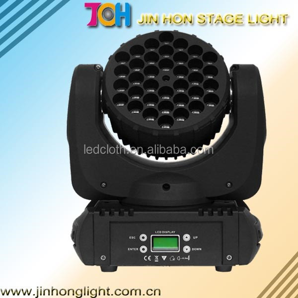 36x3w RGBW moving head led beam light