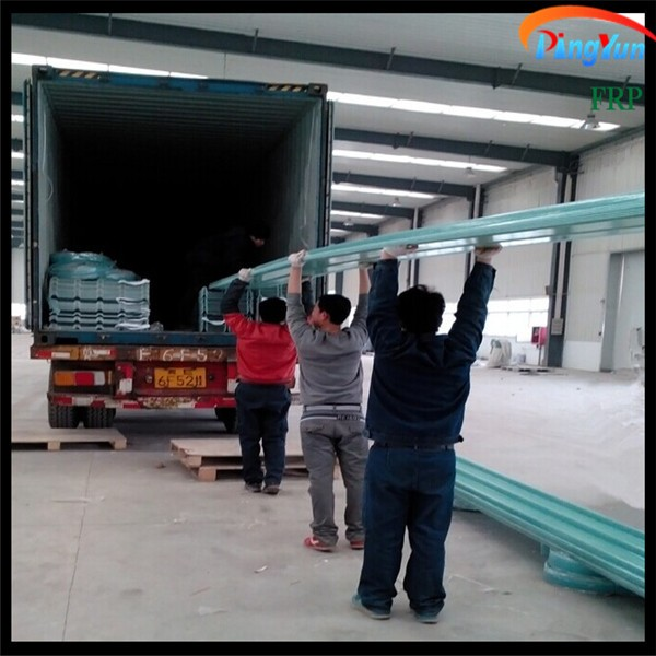 FRP corrugated sheet/FRP translucent roofing sheets/clear plastic roof covering