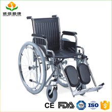 Top selling powder coated steel frame buy wheelchair for disabled or elder