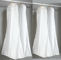 non woven wedding dress cover bag /garment bag