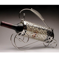 Grapes Bar Decor Storage Holder Wine-Themed Kitchen Collection Wine Bottle Rack