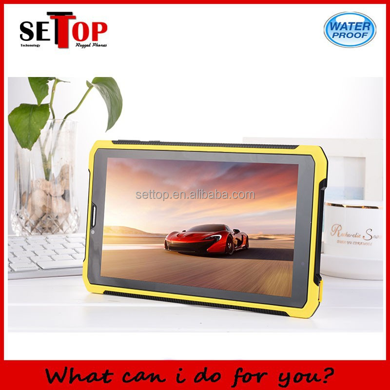 7inch android 4..2.2 rugged tablet MTK6572 Dual Core Capacitive Touch Screen 3G tablet