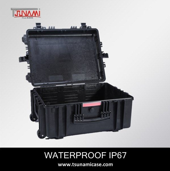 Wholesale lifeproof plastic heavy duty hard case tool box with wheels