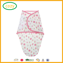 2017 Cheap Price Adjustable Infant Baby Wrap Set by Ziggy Baby Swaddle Blanket Hot Sale Baby Sleeping Bag Wrap Swaddle Blanket