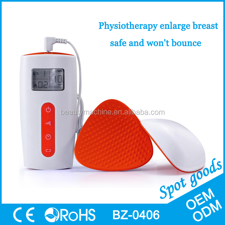 Wireless breast massager breast enhancer soft solicone material-BZ-0406