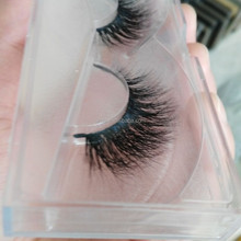 Luxury 100% Mink Fur False Eyelash False Strip Horse Fur Lashes Mink Fur Eyelash