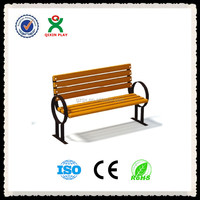 European Style commercial outdoor furniture bench/garden bench/park bench parts/QX-144E