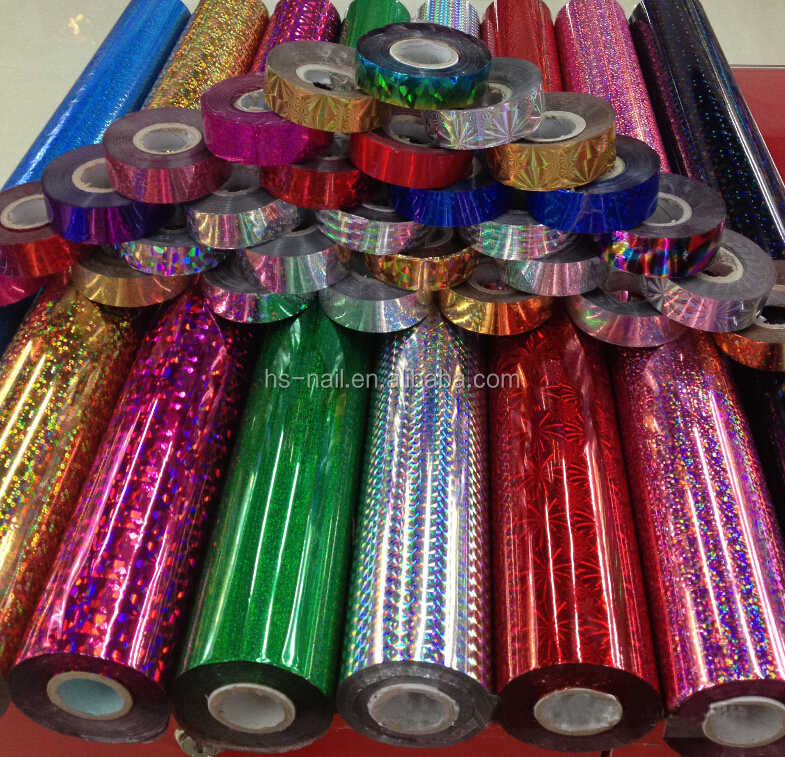 Wholesale OEM transfer foil roll for nail art decoration sticker