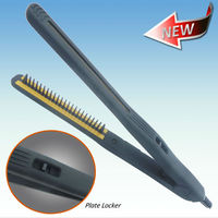 Plastic Hair Comb Straightener With Comb 2 in 1 Design
