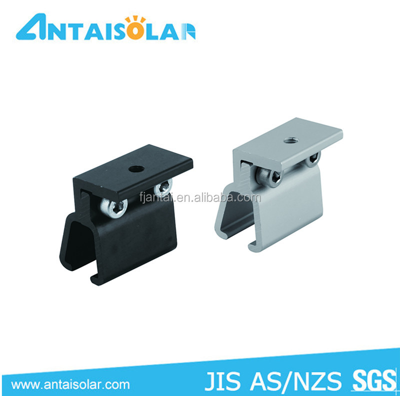 metal sheet standing seam roof clamps/ solar mounting accessories