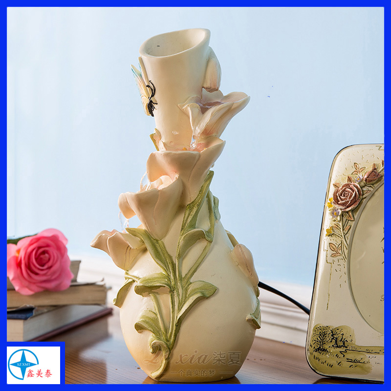 Resin Flower Vase for Decoretion