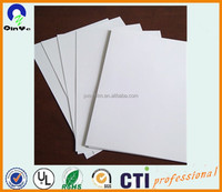 700x1000 Glossy/Glossy and Polish/Polish White Rigid PVC Sheet