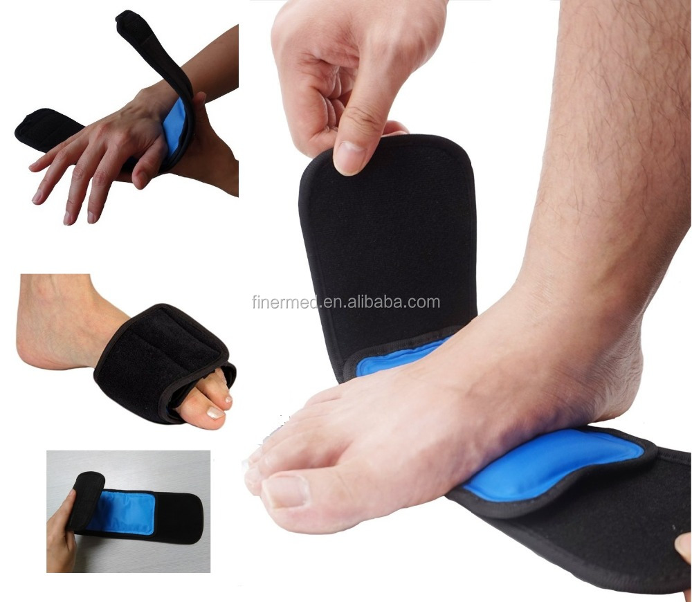 Hand foot wrist elbow therapy Cold hot pack wrap