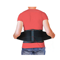 Adjustable Straps for Lower Back Pain Relief for Sports - Black