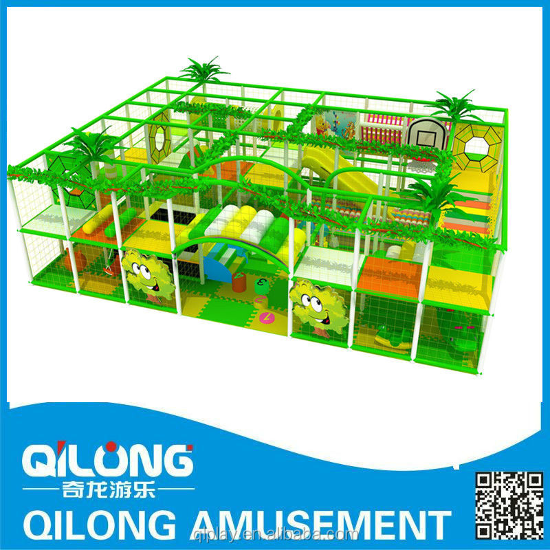 GS/CE Certificated Factory Price Funny Kids Indoor Soft Playground