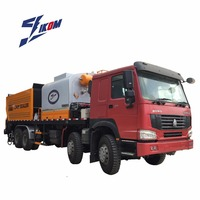 HOWO Chassis Truck Asphalt Synchronous Chip