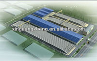 3 D drawing steel structure warehouse pictures