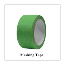 Clear Low tack adhesive paper masking tape washi paper roll