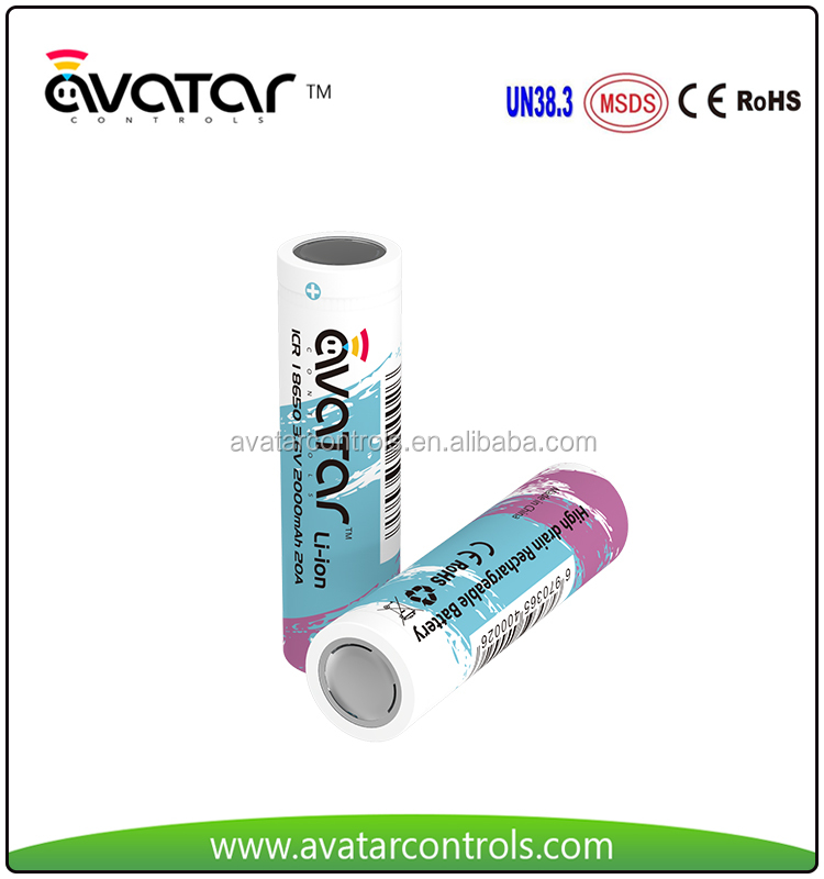 Good Price Best Quality Rechargeable Li-ion 18650 Battery 3.7v 2200mah