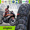 China tubeless motorcycle tyre, Off road motorcycle tubeless tire/tyre 110/90-16