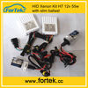 Super slim&car headlight hid kit xenon h7 55w 12v 4300k 5000k 6000k 8000k 10000k 12000k
