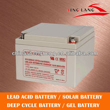 High rate ups/eps/back up battery 12V 24AH