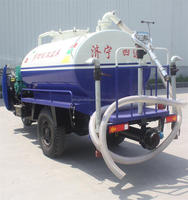3 cbm Self Suction Mini Water Truck,3 cbm Small Water Tricycle