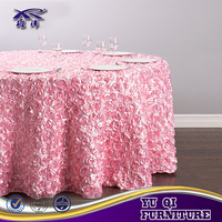 New design thick plastic cover table cloth