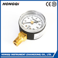 Wholesale PC glass liquid wise pressure gauge for pressure measuring instruments