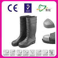 Fashion 2015 man rubber hunting rain boot