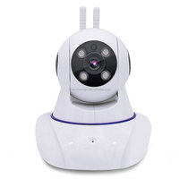 HJM Wireless IP Camera Wifi 720P HD CCTV For Home P2P Security Surveillance Two-Way Audio 32GB SD Card Mobile APP