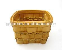 square paper rope / wood chip tray