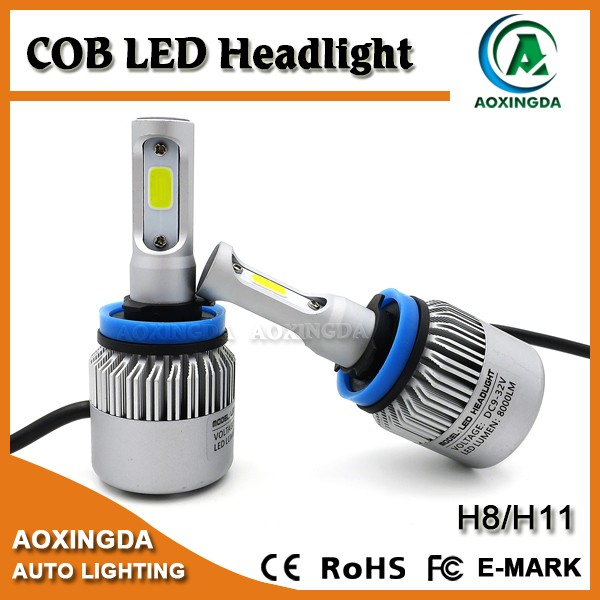 Automobiles & motorcycles h11 cob led headlight car head light h8 h9 h7 9005 9006 led