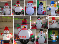 2014 OEM design large christmas inflatable / inflatable santa claus / inflatable snowman MK-33
