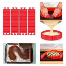 Bake All Cake Silcione Material Create Shape Cake Mold New Product DIY Bake Snake Bakeware Cake Molds
