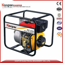 KANPOR air-cooled diesel deep well water pump with CE&ISO&BV