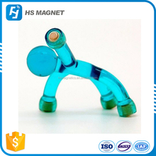 Personalized magnetic toy mini flexible Q-man Magnet