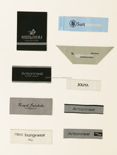 Customized Garment Woven label, Satin Woven Label , Brand Label For Clothing