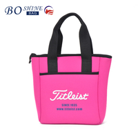 DONGGUAN BOSHINE Hot Selling New design neoprene double wine cooler bag cooler bags for food